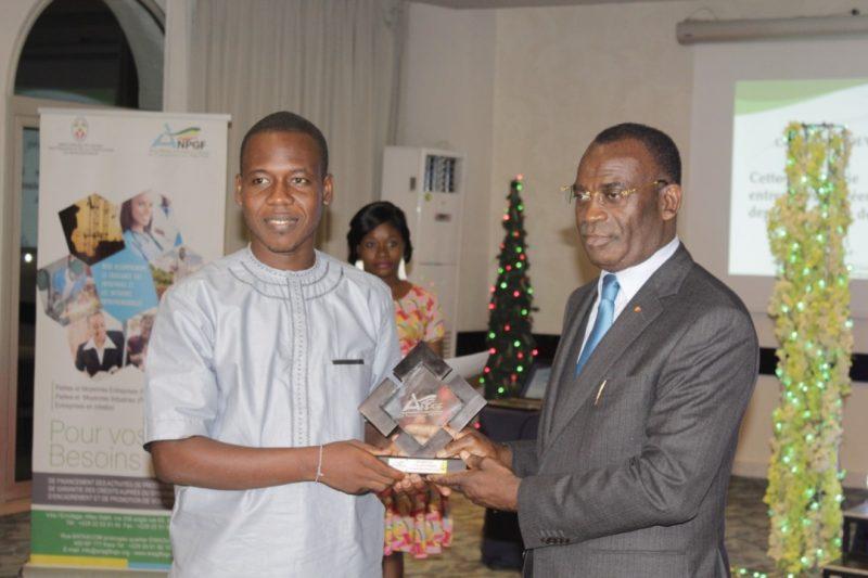 anpgf togo,entrepreneuriat, prix anpg 2018