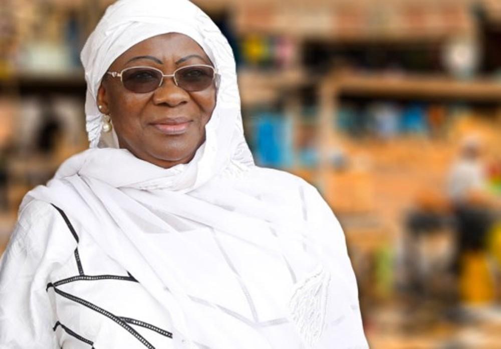 Mme Awa Nana Daboya, Présidente de l'Hcrrun
