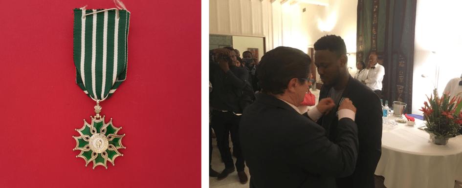 Le Togolais Elemawusi Agbedjidji fait chevalier des Arts et des lettres