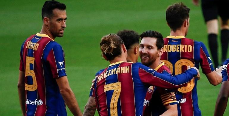Liga le Barça étrille Elche et se relance