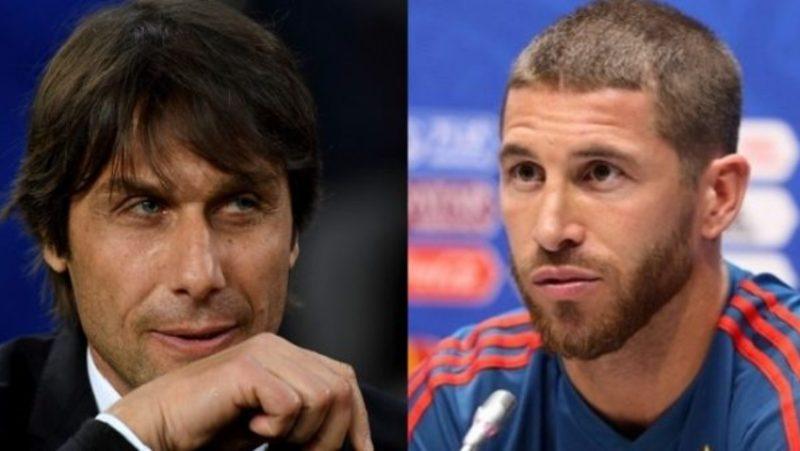Sergio Ramos, Réal Madrid, Antonio Conte,
