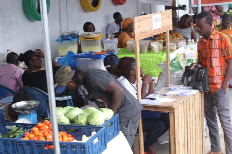 Togo-Espace Viva le marché des paysans officiellement ouvert ce samedi