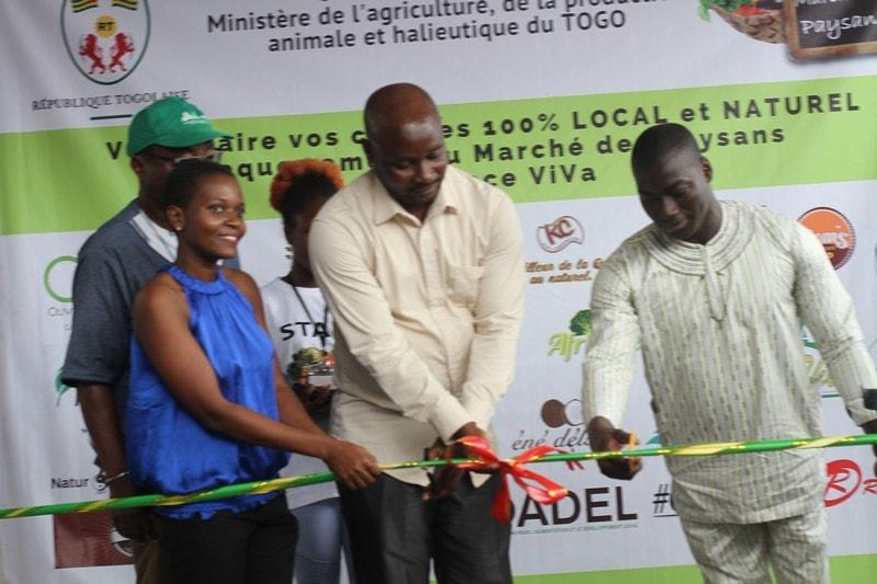 Togo-Espace Viva le marché des paysans officiellement ouvert ce samedi (2)-min