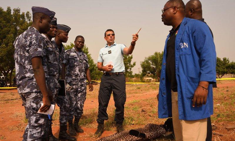 Togo-Sécuritédes enquêteurs togolais se perfectionnent à l'école française