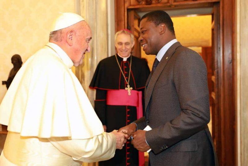 TogoVatican le président Faure Gnassingbé reçu par le pape François ce lundi 29 avril ; ce qu'ils se sont dits
