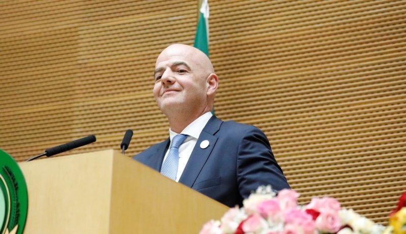 Union Africaine, FIFA, Gianni Infantino, présidents, africains,