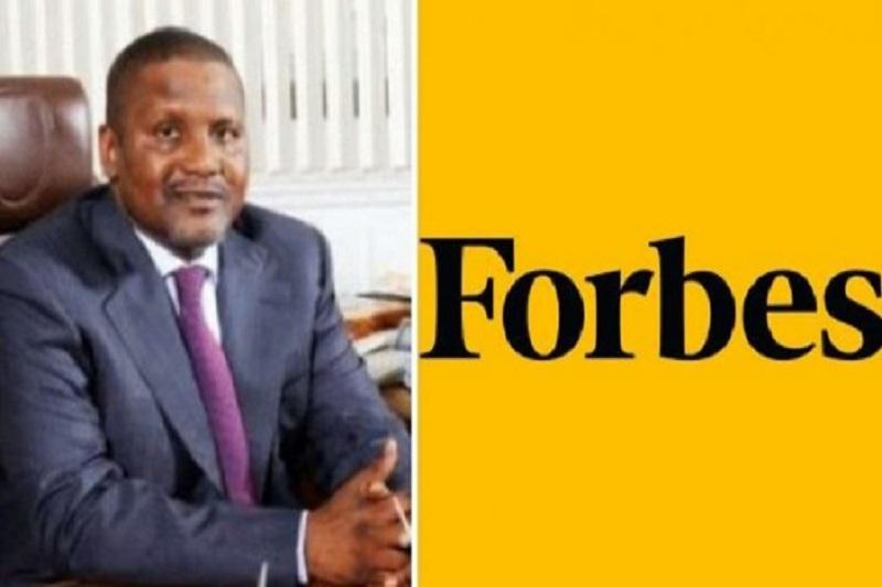 Classement Forbes, Afrique, Aliko Dangote