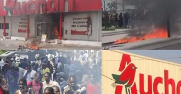 Arrestation d'Ousmane Sonko des entreprises françaises pillées par des manifestants à Dakar