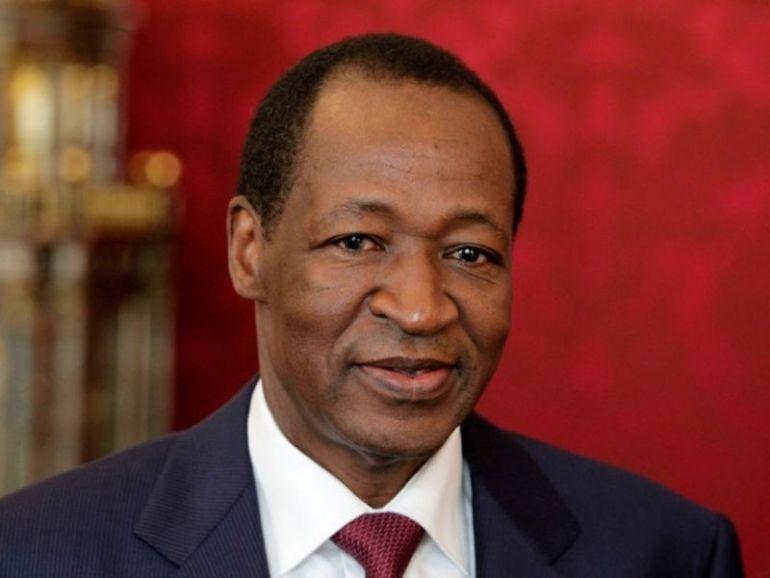 Blaise Compaoré l'ancien président burkinabè aperçu lors d'une cérémonie de mariage en Côte d'Ivoire (photo)