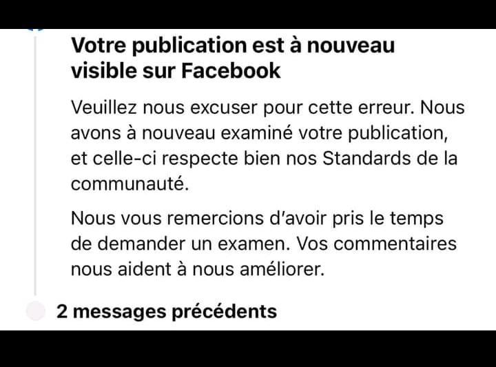 Facebook : votre compte bloqué injustement ? Voici comment le réactiver
