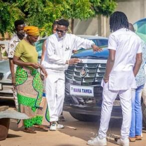 Togo : grosse polémique autour de la voiture de 50 millions offerte à Mama Taméa