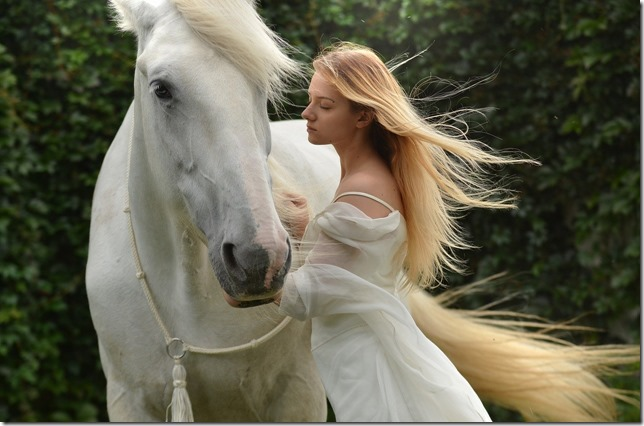 femme cheval amour