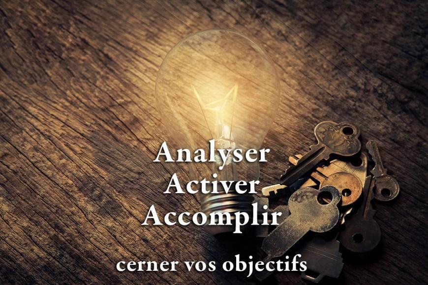 analyser activer accomplir, agir