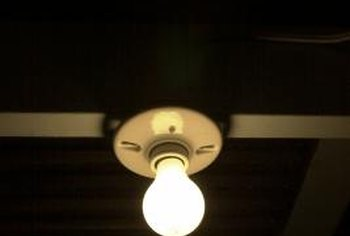 how to replace an old ceramic light socket