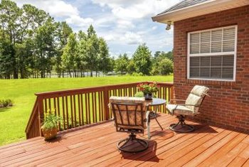 correcting deck stain color