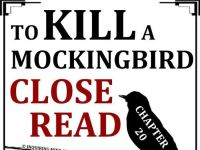 To Kill a Mockingbird Close Reading Worksheet (Chapter 20 ...