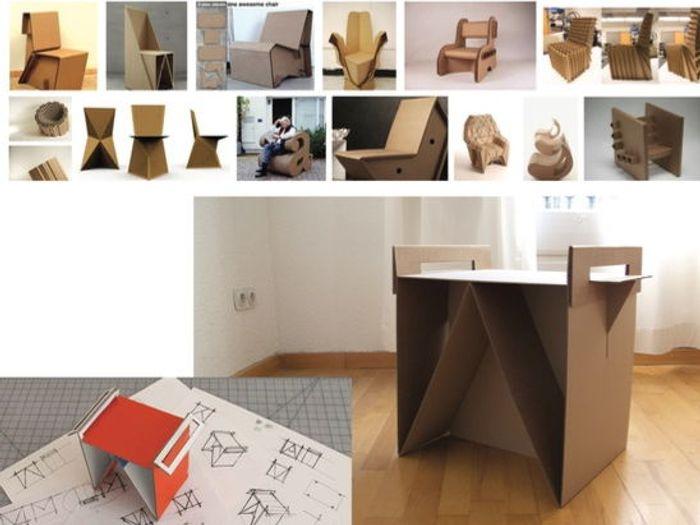 Product Design Ikea Flat Pack Cardboard Furniture