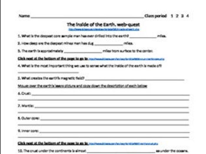 Body Systems Webquest Answer Key