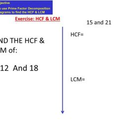 Hcf And Lcm Using Venn Diagrams Architecture Site Analysis Diagram By Bucko88 Teaching Resources Tes