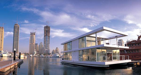 dubai houseboat