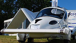 Flying car (Yahoo! Autos)