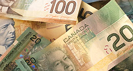 Canadian currency (iStockphoto)