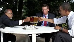 Obama's Beer Summit (Reuters)