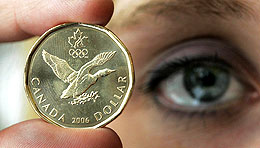 Loonie (The Canadian Press, Getty