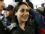 La bailarina de striptease Monserat Morilles/AFP