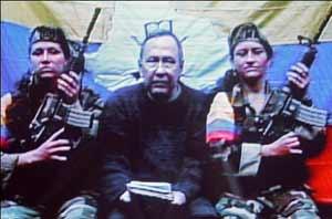 Imagen de video de Oscar Lizcano en la selva/ AFP