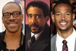 Eddie Murphy, Richard Pryor, Marlon Wayans - Photos: Mark Sullivan/Bob Riha Jr./Jeffrey Mayer - WireImage.com