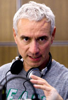 Director Roland Emmerich on the set of Columbia Pictures' 2012
