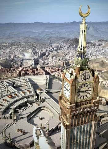 Jam Mekkah – Jam Terbesar di Dunia