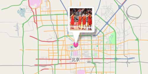 Kartenausschnitt Peking - Nachher