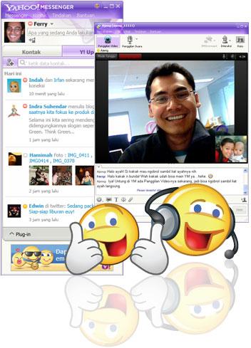 [Yahoo! Messenger untuk Windows]