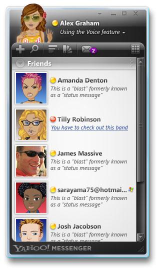 YAHOO! Messenger For Windows Vista