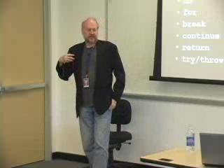 "Douglas Crockford: ""The JavaScript Programming Language""/2 of 4 @ Yahoo! Video"