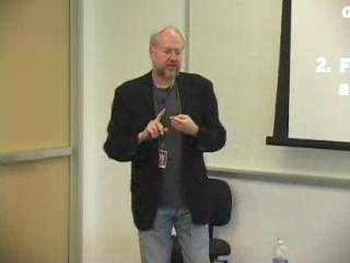 "Douglas Crockford: ""The JavaScript Programming Language""/3 of 4 @ Yahoo! Video"