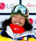 Here is a profile image of Japanese snowboarder Kazuhiro Kokubo