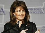 Governor Sarah Palin (R-AK) speaks during a Plenary Session at the 2008 Republican Governors Association Annual Conference in Miami November 13, 2008. (Reuters)