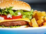 Cheeseburger with fries (iStockphoto.com)