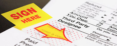 Tax  form (Getty Images)