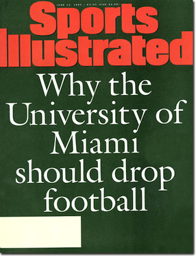 For Miami, booster's bombshell means it's time to start talking about the worst