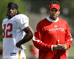 Todd haley and Former FSU Star WR Dwayne Bowe