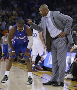Little went right for Clippers coach Doc Rivers and Chris Paul on Wednesday night. (AP)