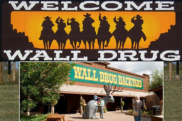 Wall Drug, South Dakota (www.walldrug.com)