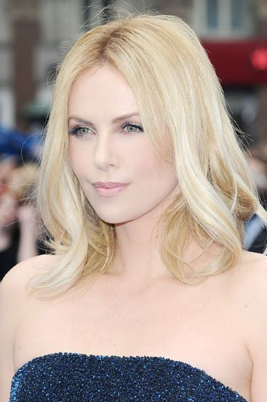 Charlize Theron's Shoulder …