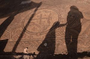 Ancient Church Mosaic With Symbol of Jesus Uncovered …