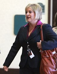 "FILE - In this May 24, 2011 file photo, CNN Headline News host Nancy Grace arrives at the Orange County Courthouse for the trial of Casey Anthony, in Orlando, Fla. The former prosecutor took up the cause of 2-year-old Caylee Anthony when she was missing, spending hour upon hour on the case as mother Casey was charged with the girl's murder. Grace harbored nothing but disdain for ""tot mom,"" as she called Anthony, and with Grace in the lead HLN's coverage of Anthony's acquittal brought the network the largest audience in its 29-year-history. (AP Photo/Joe Burbank, file)"