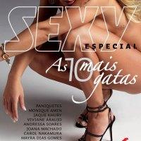 """Joana Machado aparece completamente nua na edição especial da """"Sexy"""""""